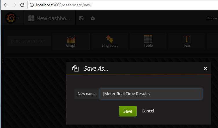 JMeter – Real Time Results – InfluxDB & Grafana