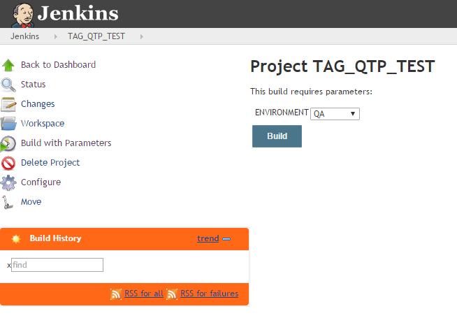 QTP Jenkins GitHub integration