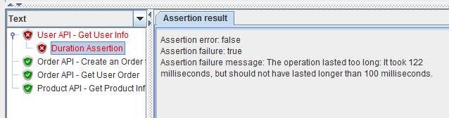 JMeter REST API microservices testing